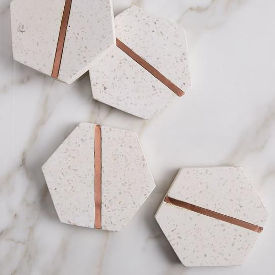 Once all the rage in the '70s, terrazzo is now making a major comeback (Pinterest saves are up 316 percent). That's good news for beach dwellers, since the material—made from embedding little chips of marble, quartz, granite, and even glass into...