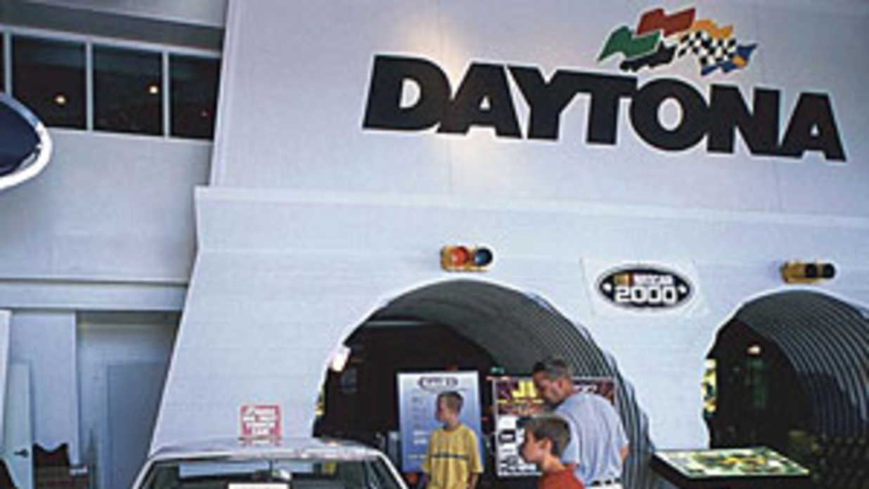 Daytona International Speedway in Daytona Beach Florida