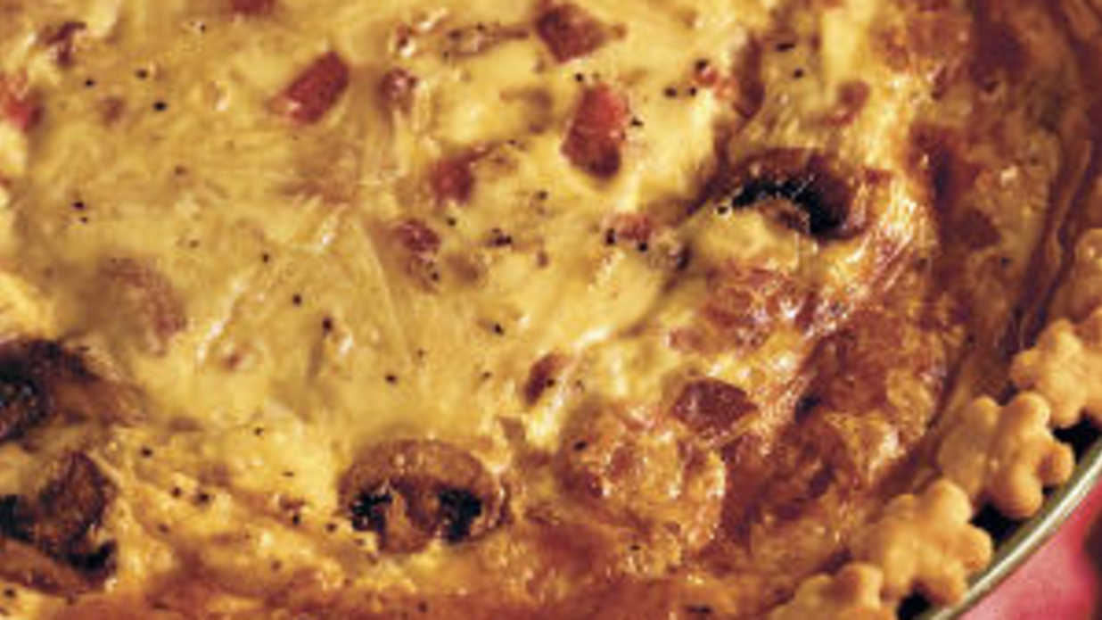 Try Ham-and-Bacon Quiche Tonight (new promo)