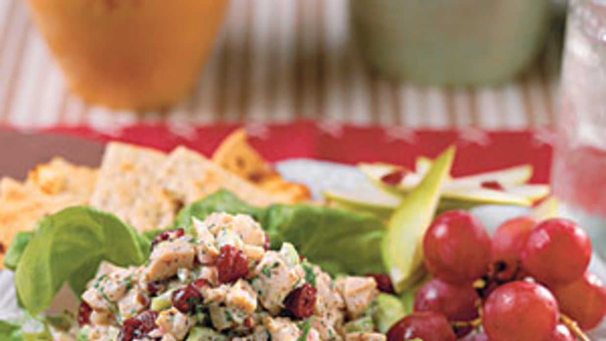 Turkey-Walnut Salad