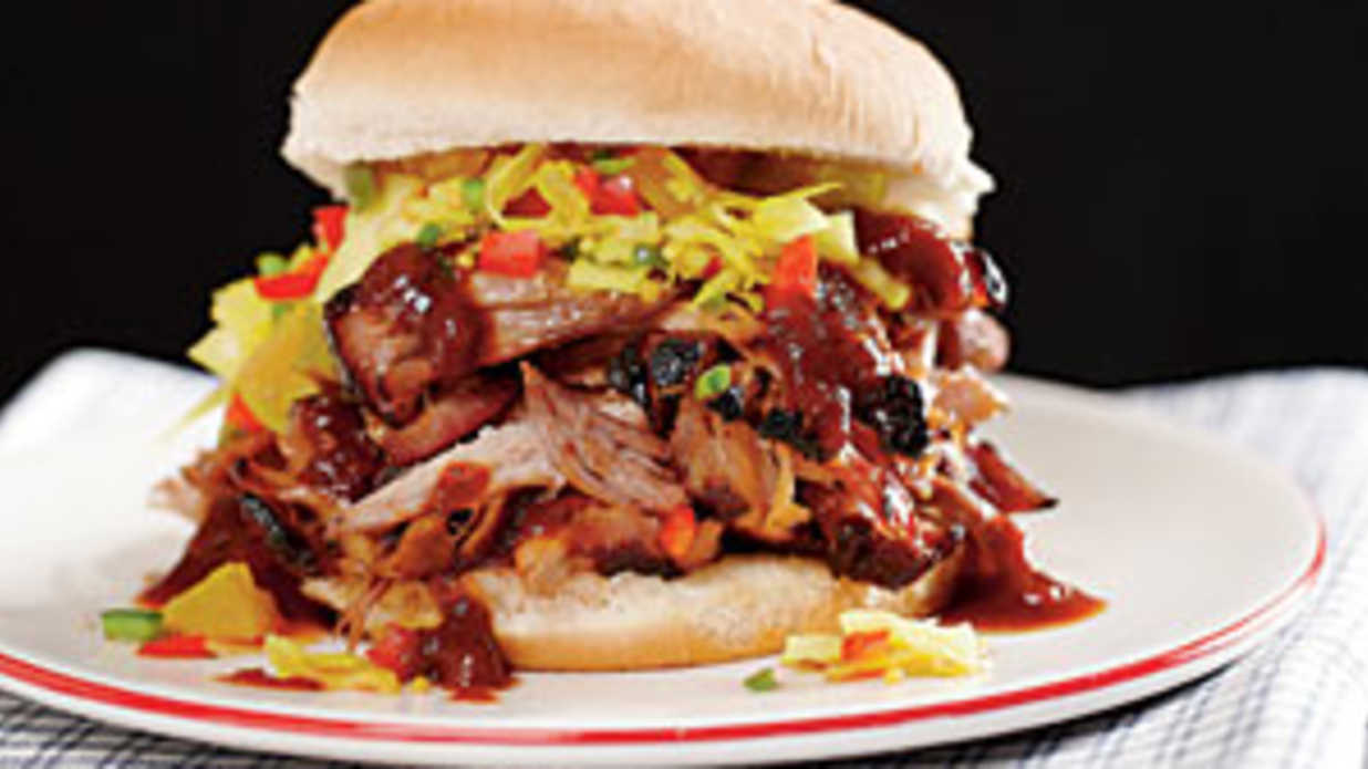 The Southern Living Pulled Pork Sandwich