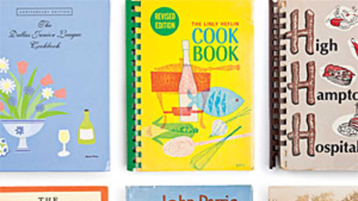 Vintage Community Cookbooks