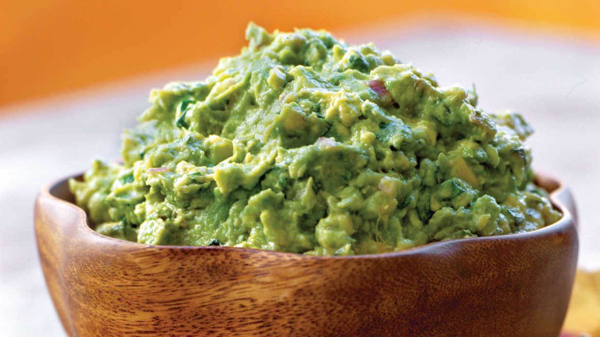 Serve this easy Guacamole recipe at room temperature with crispy ...