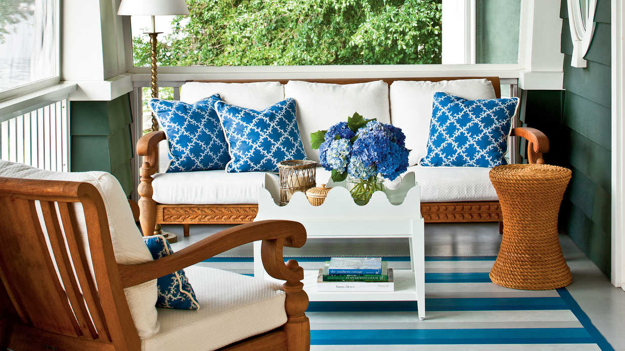 Classic Nautical Porch Classic Nautical Porch
