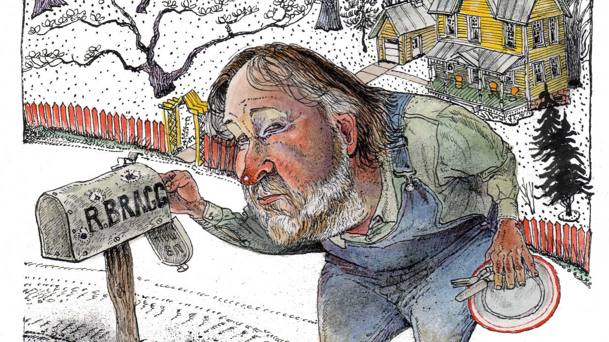 Rick Bragg Living the Southern Dream Illustration