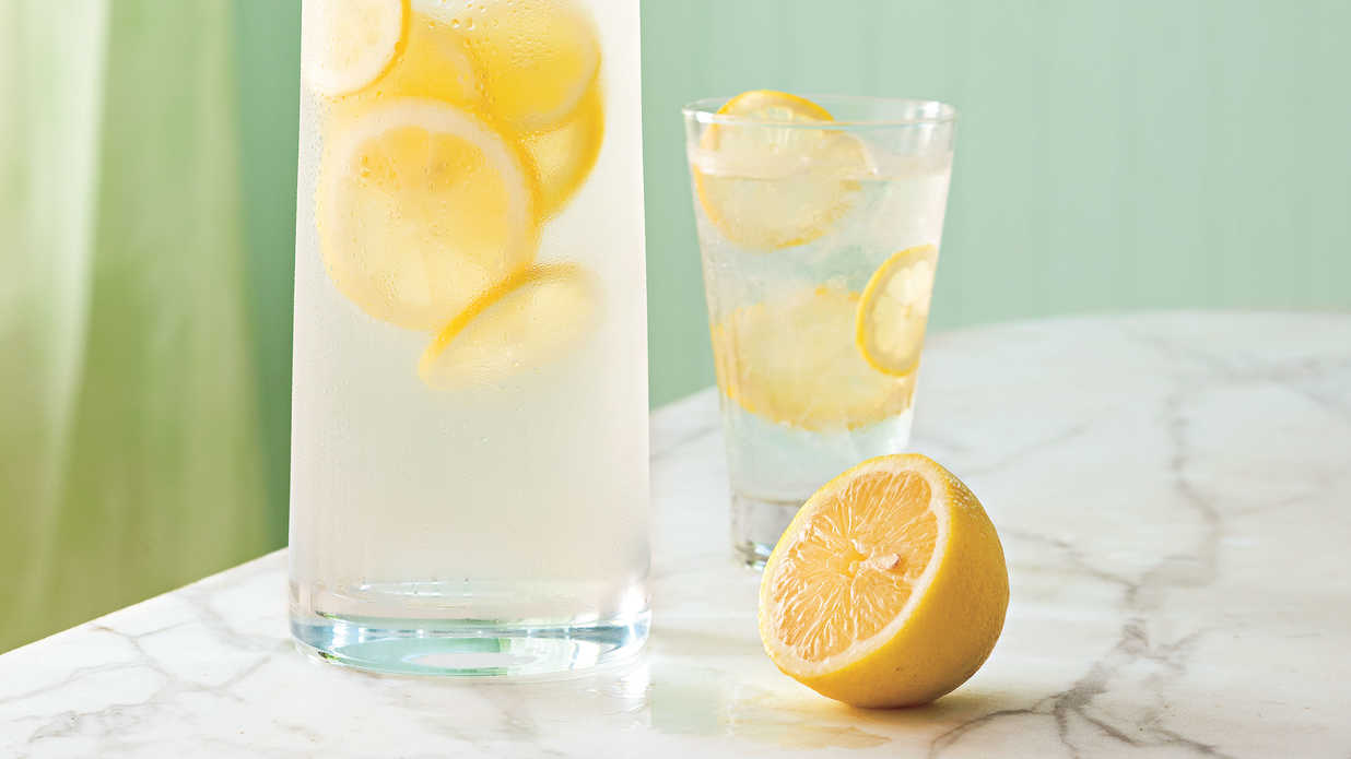 Hydate with Lemon Water