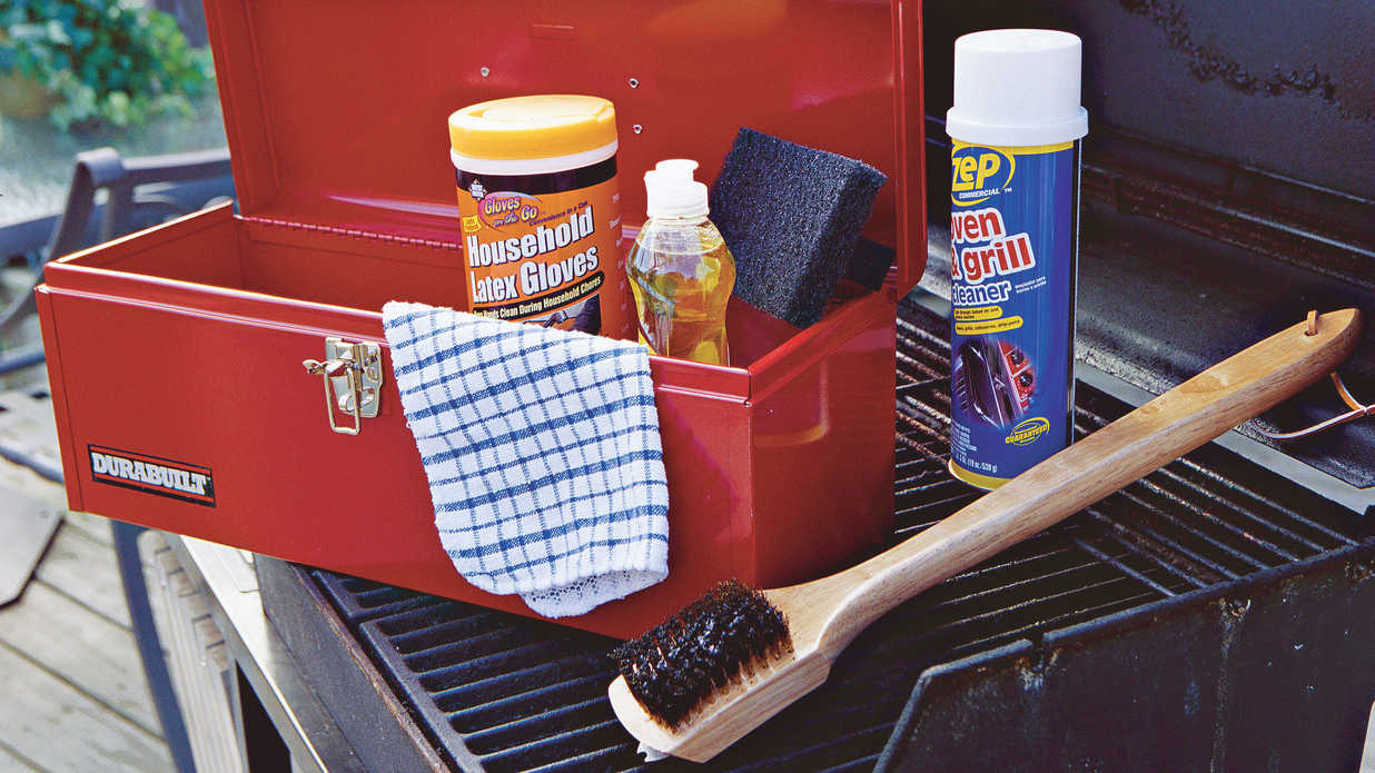 Home Tips: Clean Up Your Grill