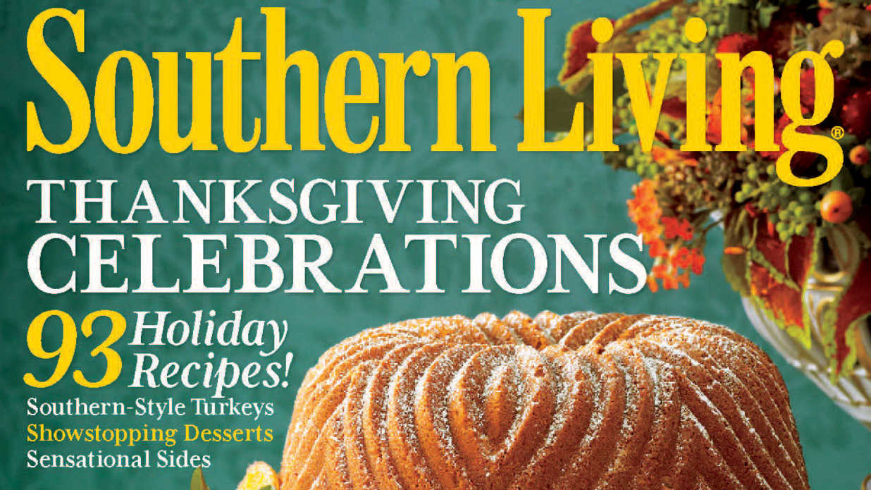 Southern Living Magazine November Issue