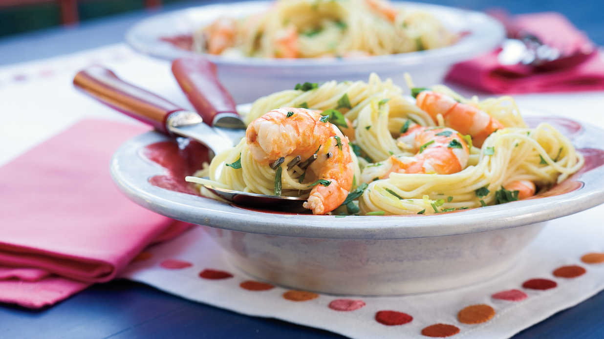 Speedy Shrimp Scampi