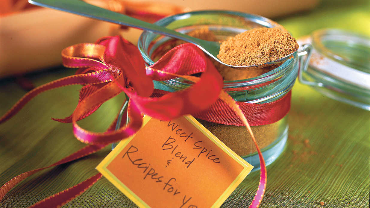 Holiday Food Gift: Sweet Spice Blend