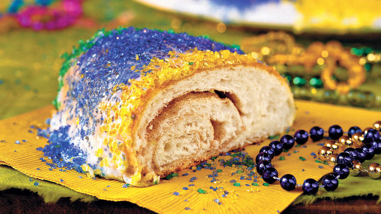 King Cake is the perfect finale to any Mardi Gras party.