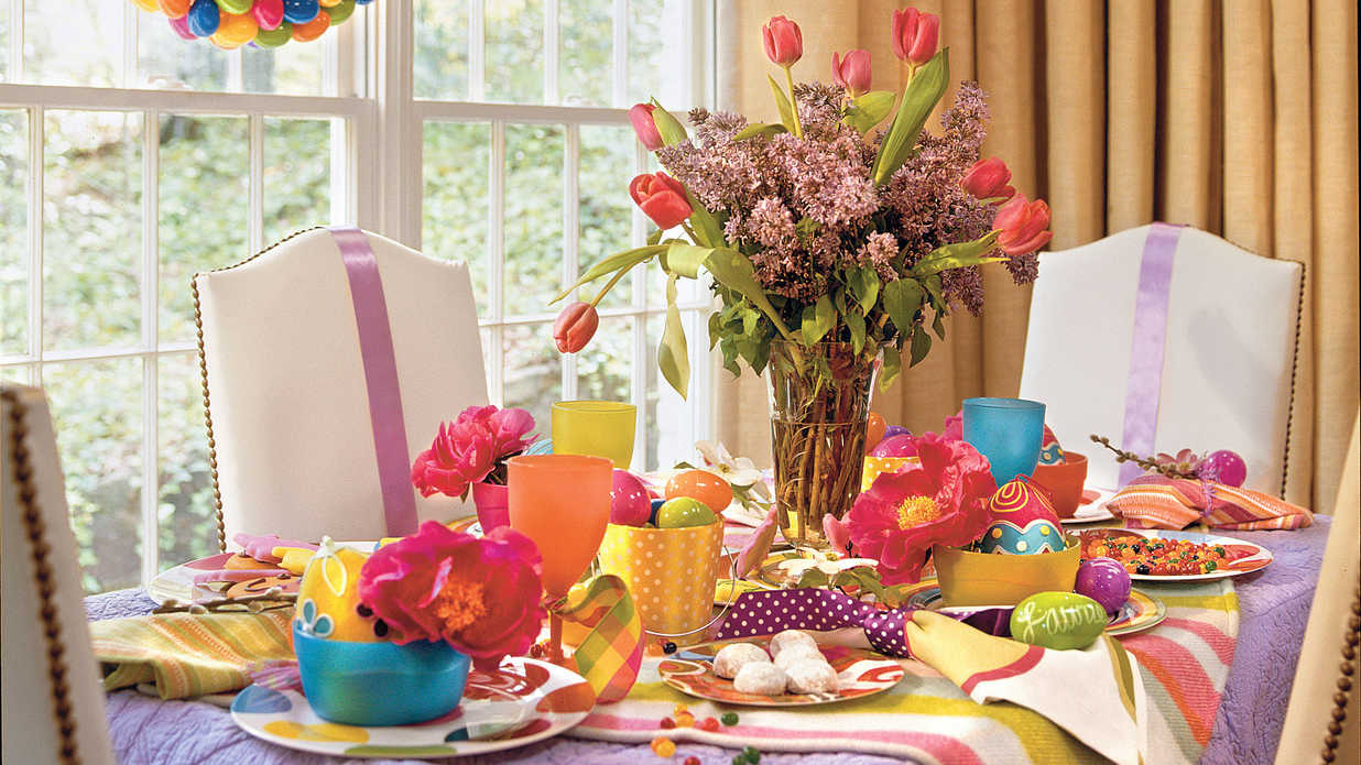 Set a Spring Table