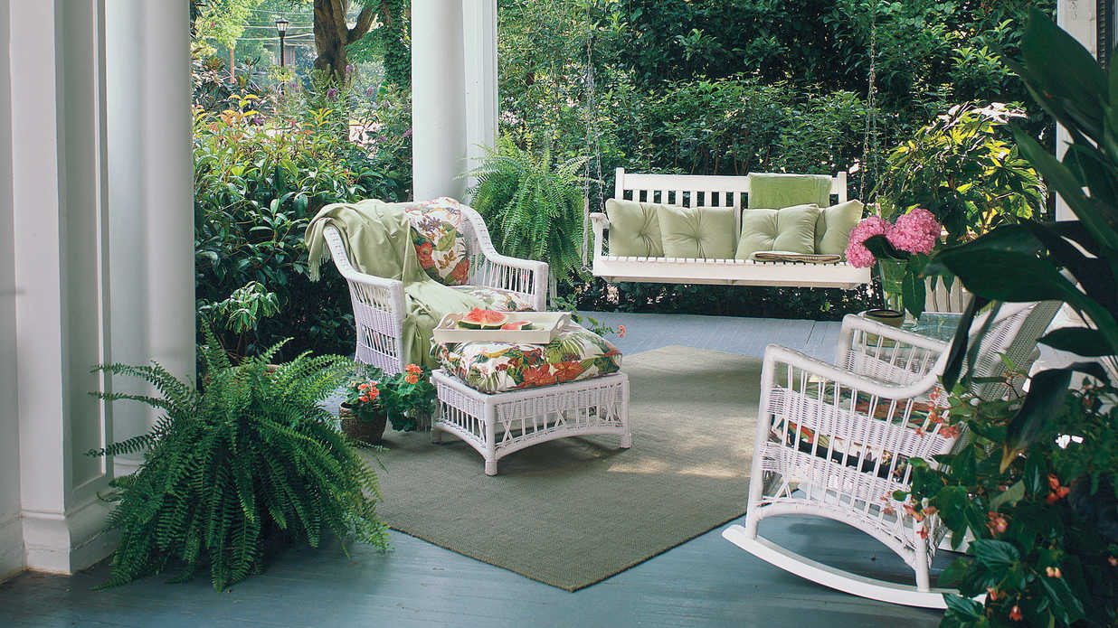 Kick Back on a Pretty Porch