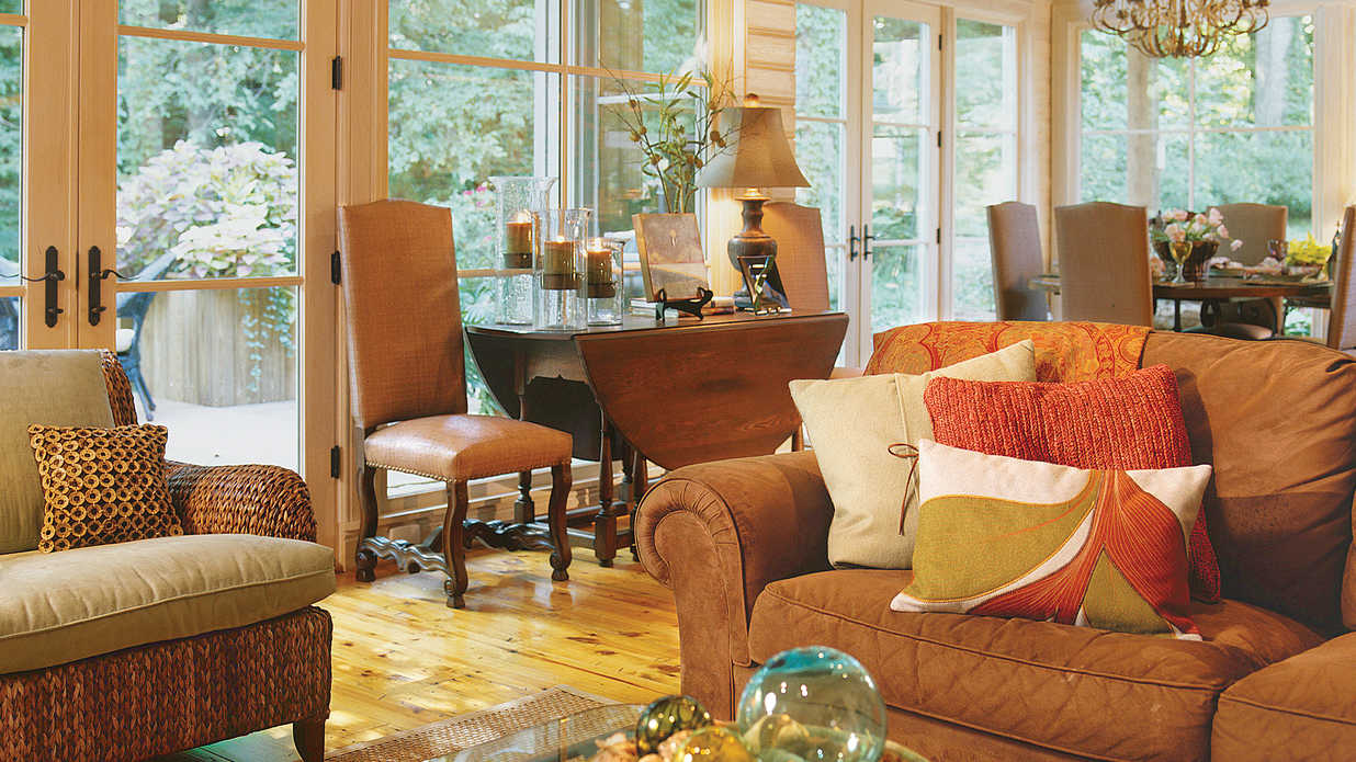 Style-Smart Sunroom
