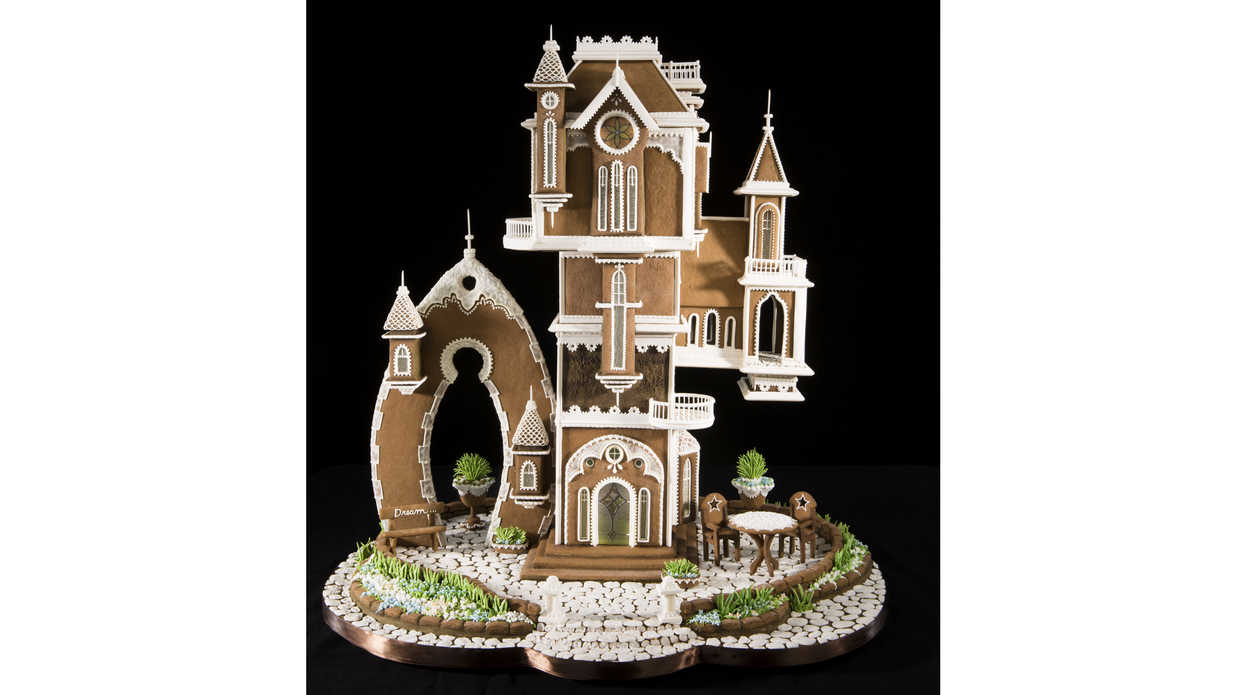 The Winning Designs From 2016 National Gingerbread