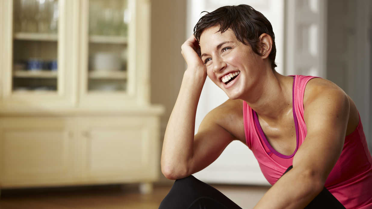 Healthy Woman Smiling