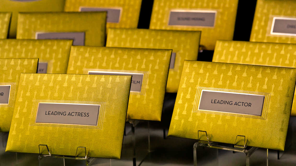 Oscar Award Envelopes
