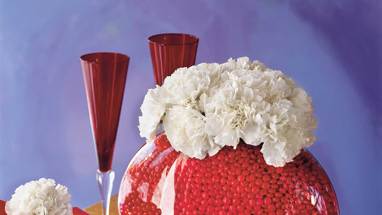 Southern Living Valentines Carnations