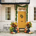 Pumpkin Ideas for Your Front Door