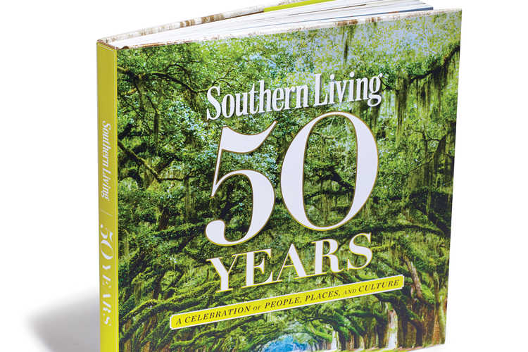 Southern Living 50 Years Book Cover
