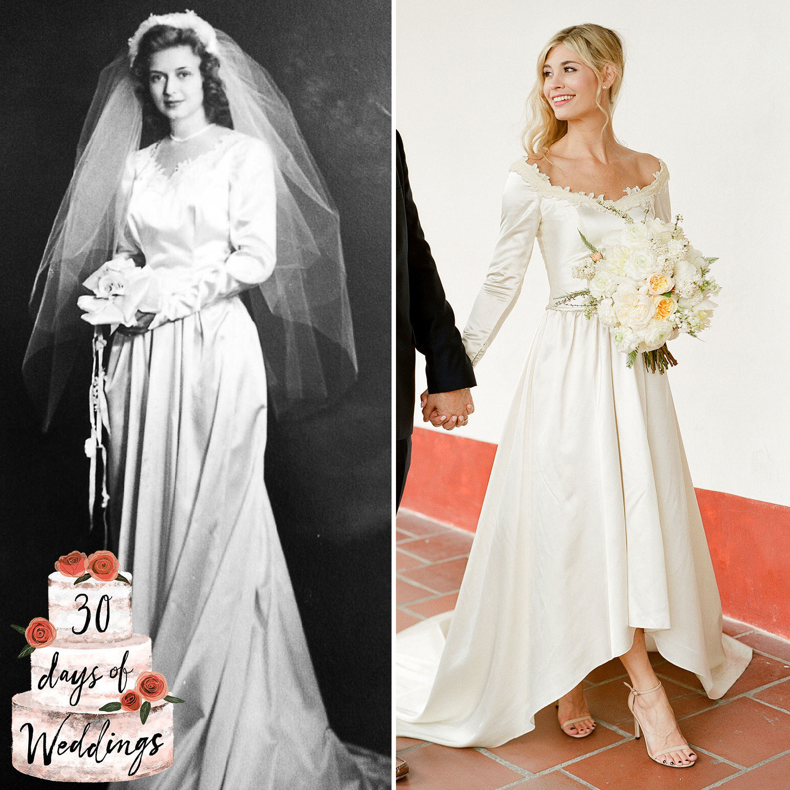 I Altered my Grandmother's Wedding Dress to Wear at my Wedding