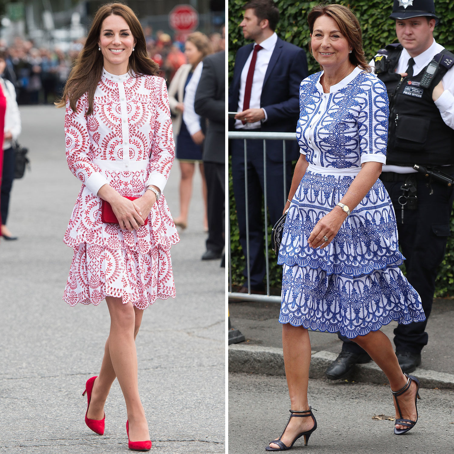 10 Outfits That Prove Kate Middleton's Style Icon Is Actually Her Mom