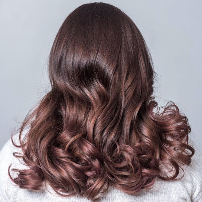 Rose Brown Hair Might Be The Prettiest Summer Trend For Brunettes
