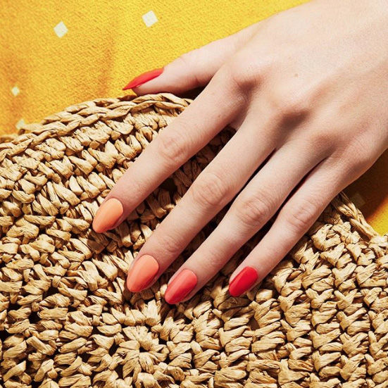 Watch Out, Cajun Shrimp: Punchy Peach Is the Ultimate Nail Color for Summer 2019