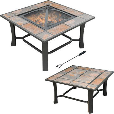 This 2-in-1 Fire Pit and Coffee Table Is Perfect for Summer