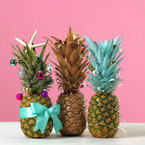 The Internet Is Going Crazy Over Christmas Pineapples