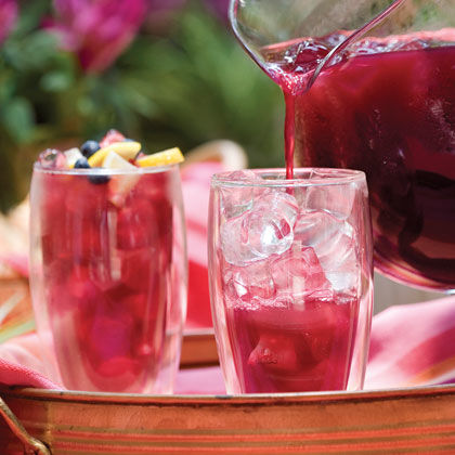 Blueberry-Lemon Iced Tea Recipe