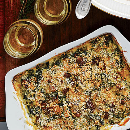 Collard Greens Gratin Recipe