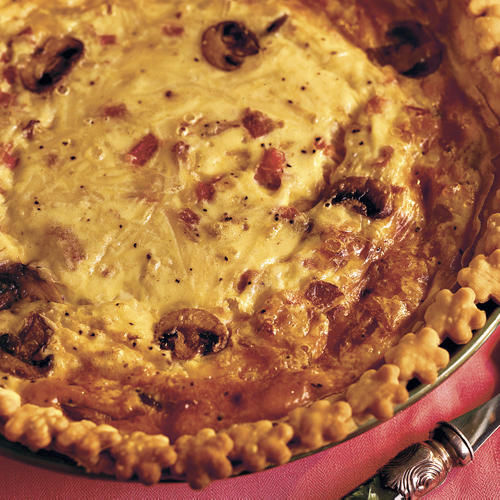 Try Ham-and-Bacon Quiche Tonight