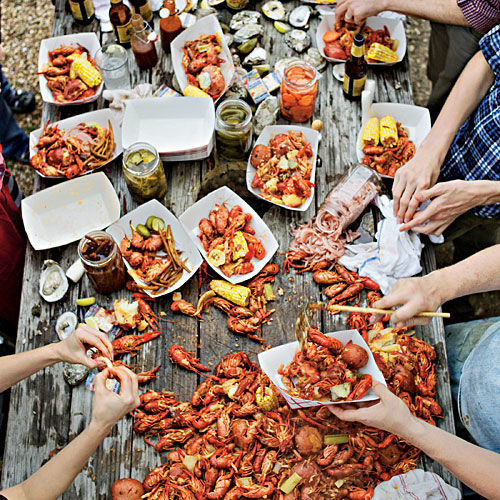 Crawfish Boil with a Texas Twist