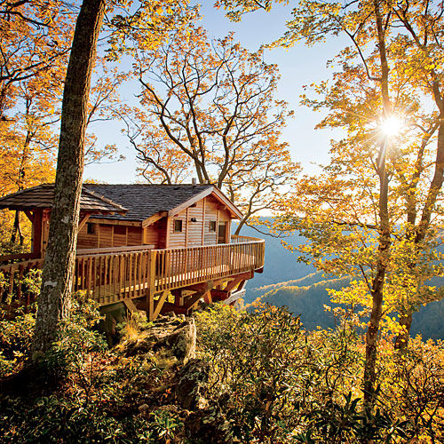 Treehouse Fall Weekend Getaway