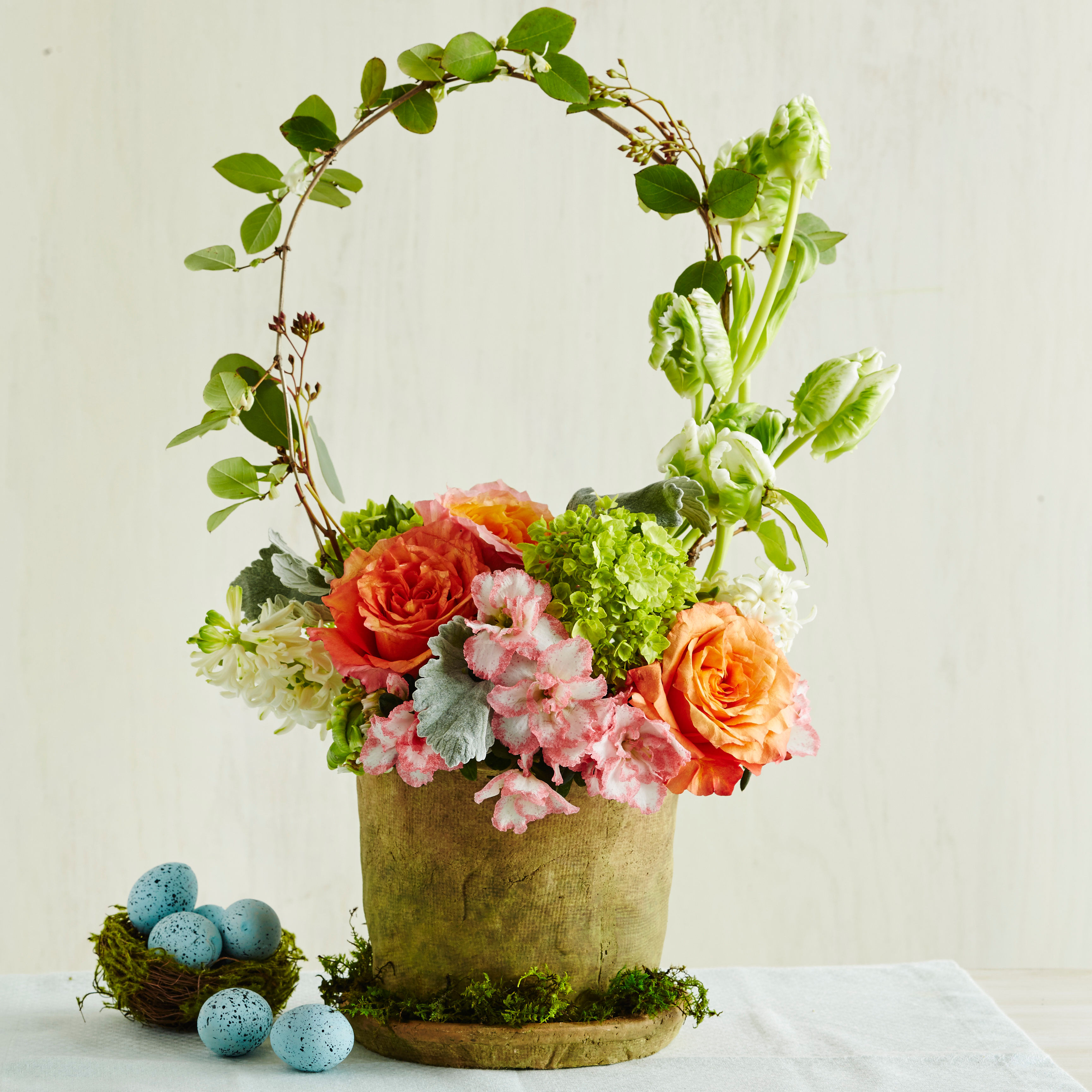 This Easter Basket Centerpiece Only Looks Tricky To Pull Off