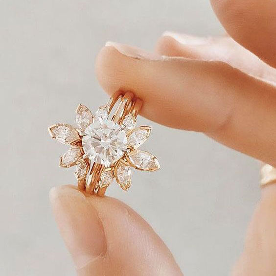 New Style Enement Rings | Engagement Ring Trends You Ll Swoon Over In 2018 Southern Living