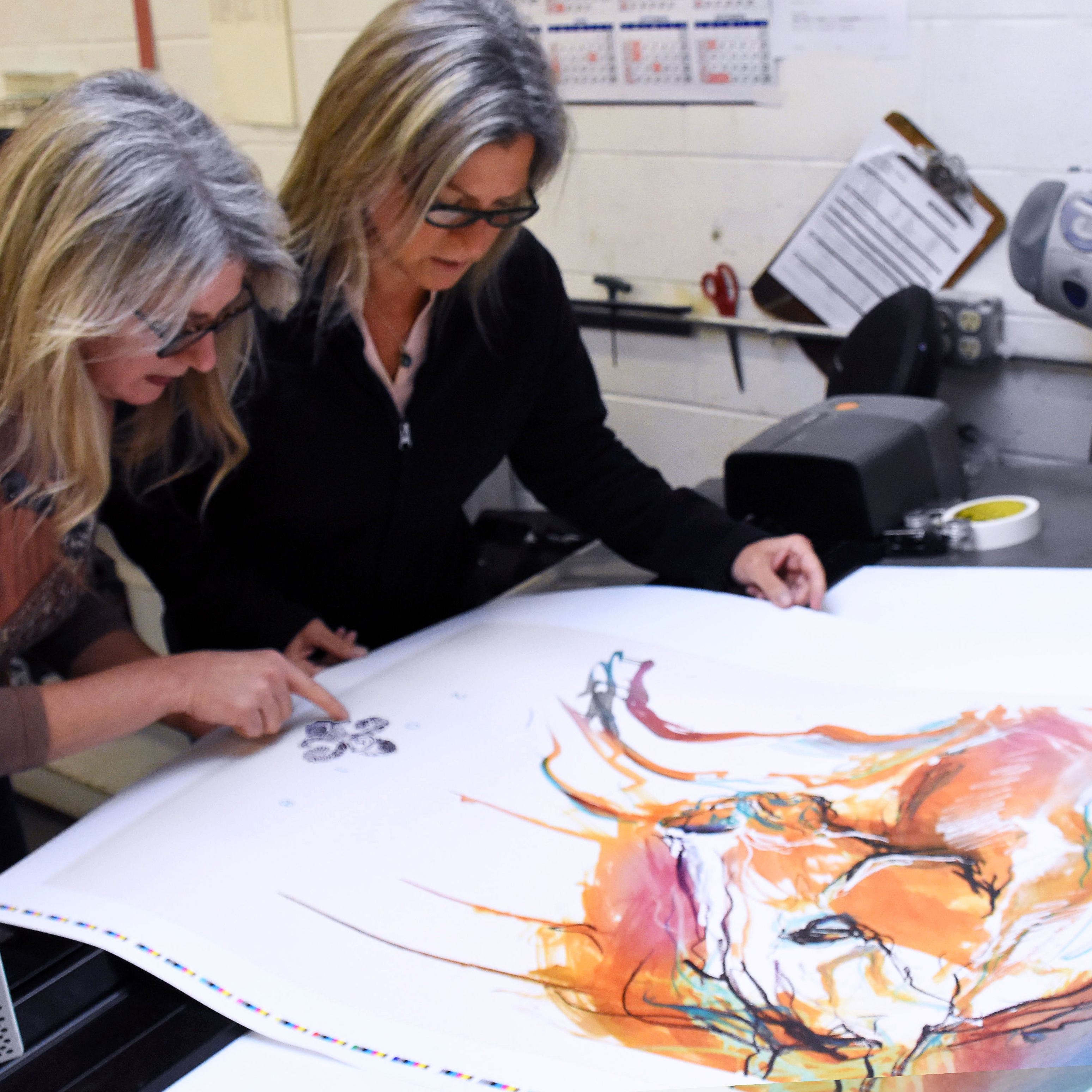 Meet the Twin Sisters Behind this Year's Gorgeous Kentucky Derby Festival Poster