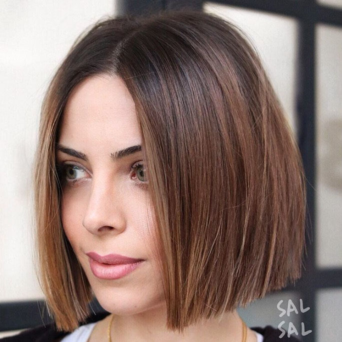 One Length Haircuts Thatll Convince You To Ditch Those Layers