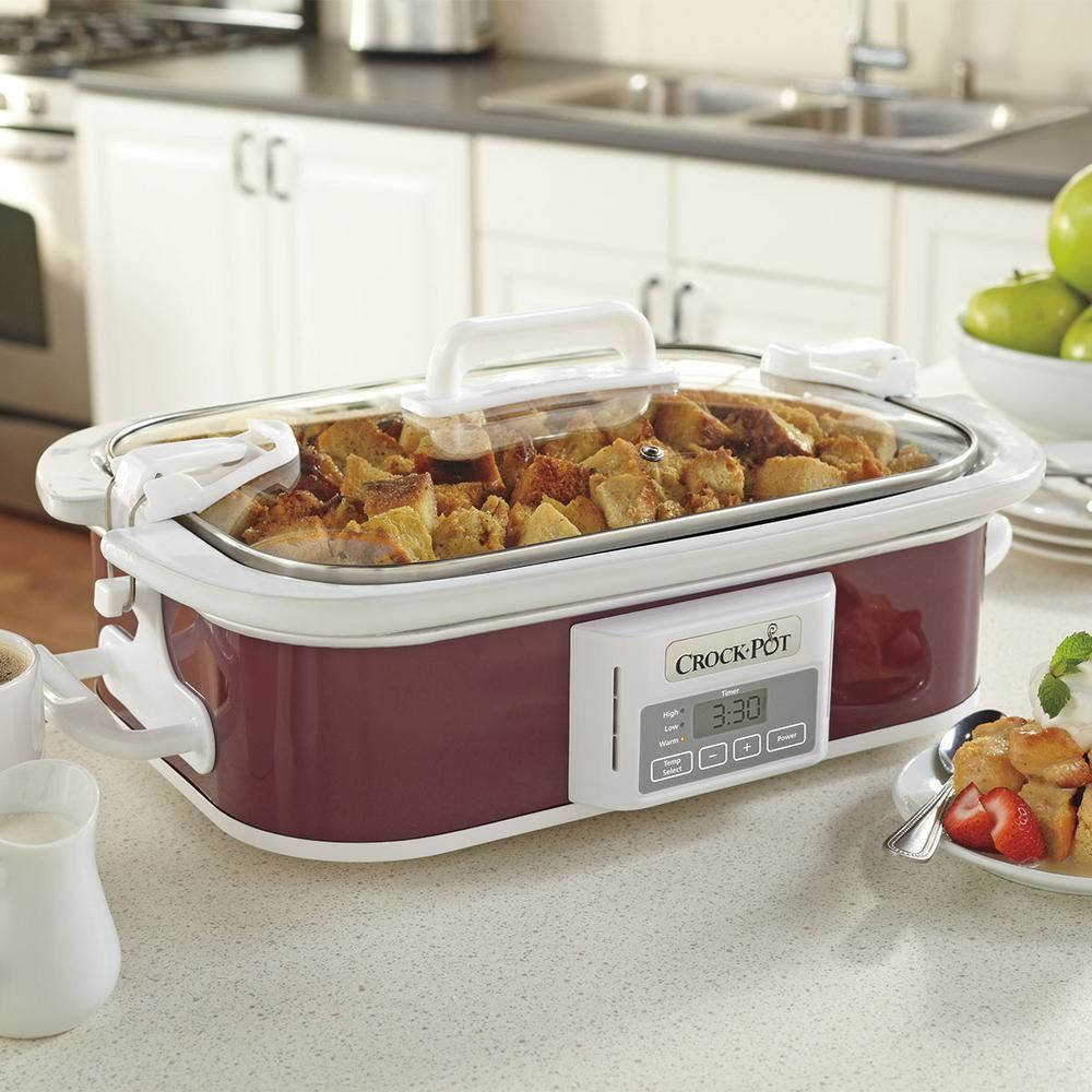 Here's Why Every Southerner Needs a Casserole-Shaped Slow Cooker in Their Life