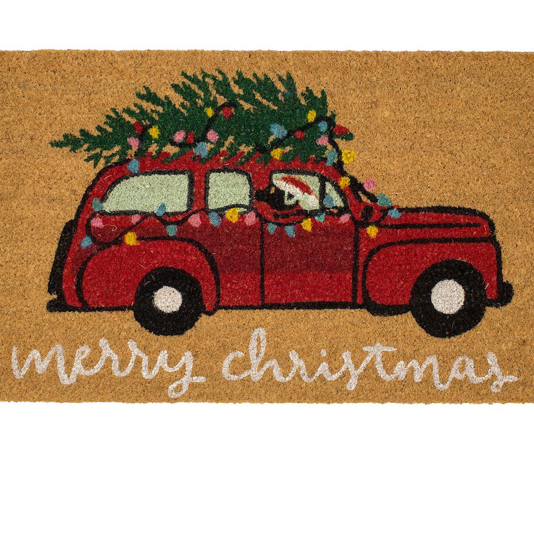 This Is the Christmas Doormat Every Home Needs