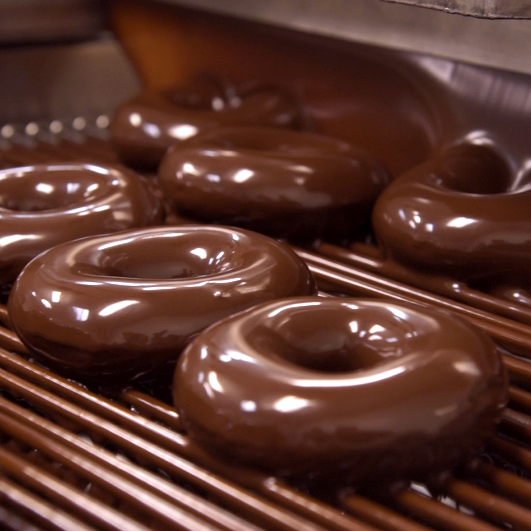 Get a Dozen Chocolate Glazed Doughnuts for $2 at Krispy Kreme Friday