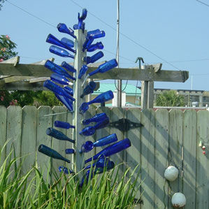 Your Garden Needs a Bottle Tree!