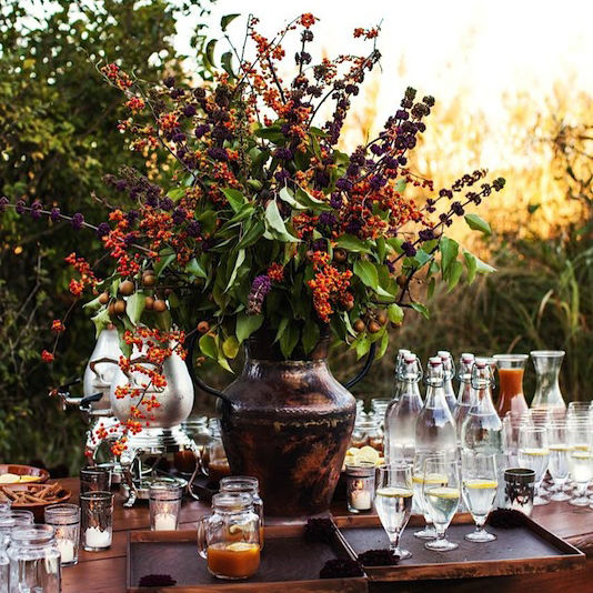 Throw A Fall-Inspired Southern Bridal Brunch