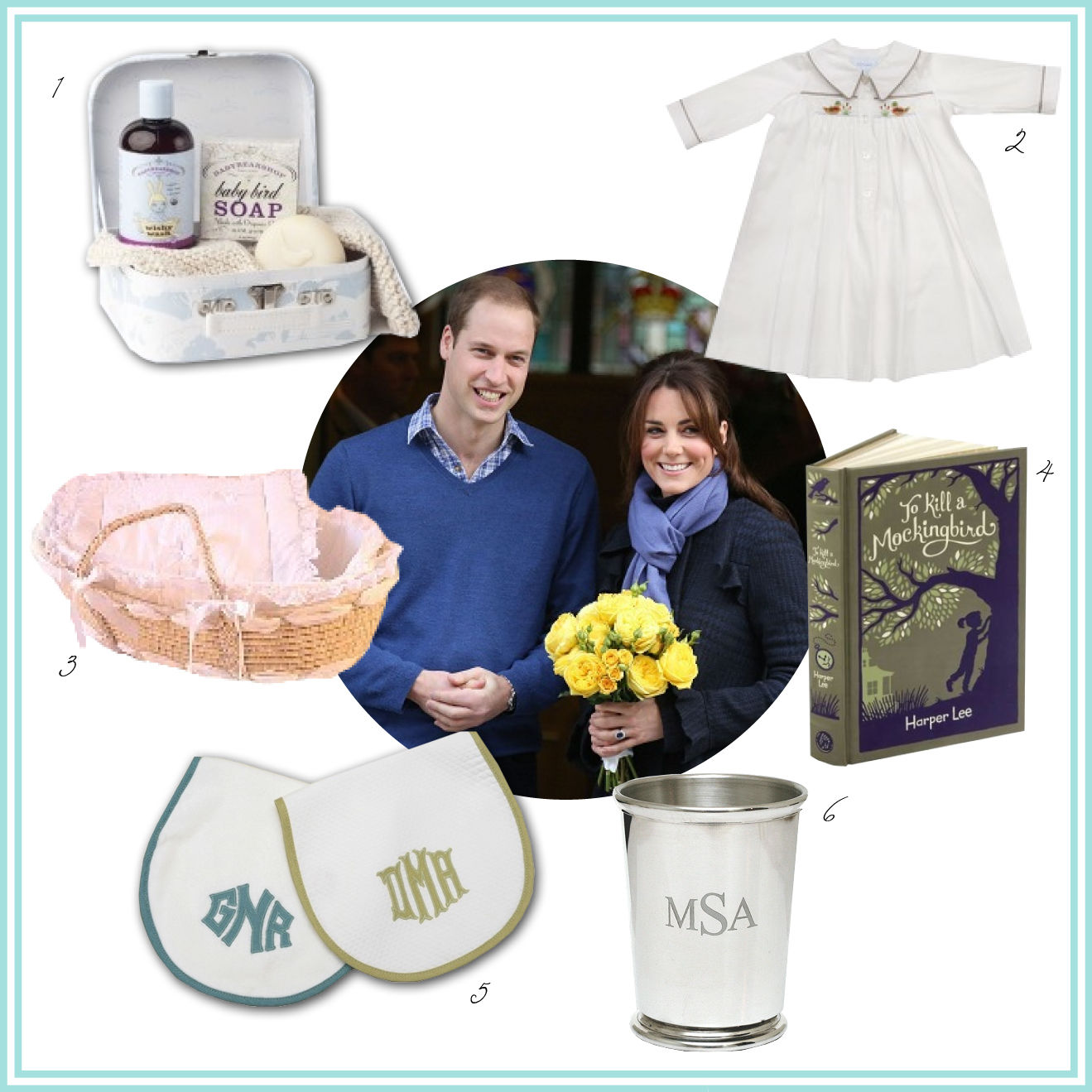 Royal Baby Arrives: Southern Gifts Fit for a Prince