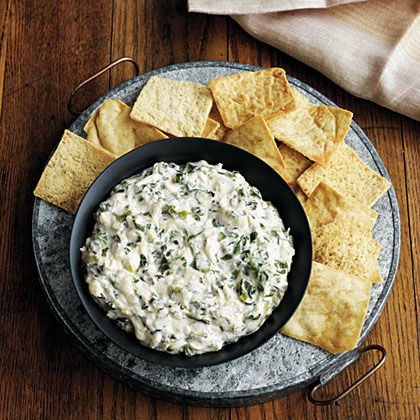 Cheesy-Spinach Crab Dip Recipe