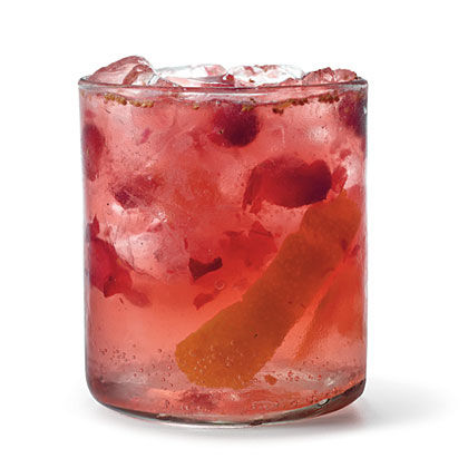 Orange-Cranberry Gin and Tonic Recipe