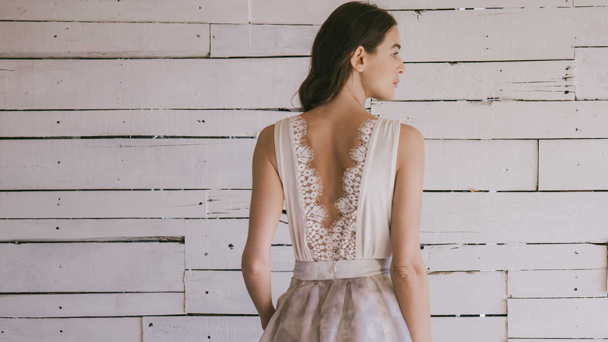 Wedding Dresses That Are Just as Pretty from the Back