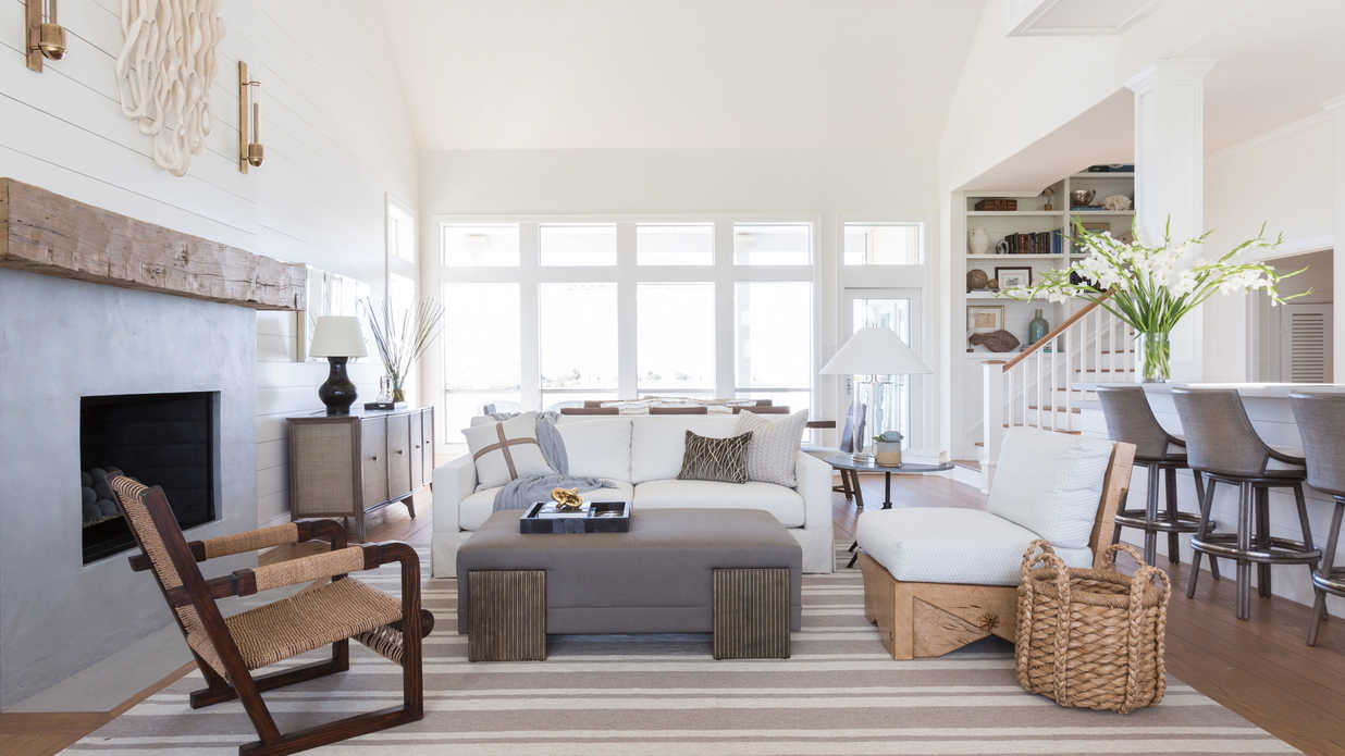 Before & After: See the Light, Bright Transformation of This Texas Beach House