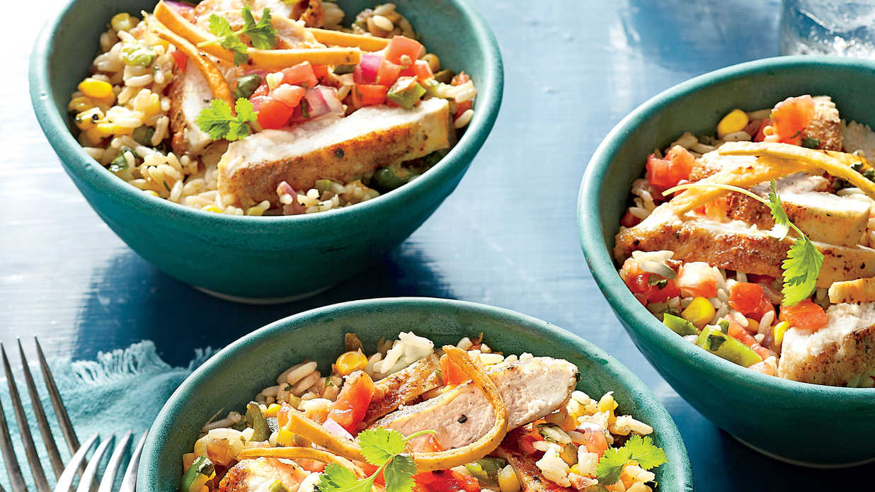Quick-Fix Rice Suppers